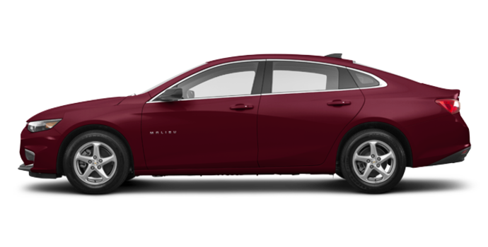 2016 Chevrolet Malibu LS | Photo 4 | Butte Red Metallic