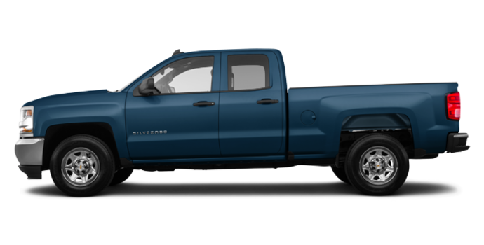 2016 Chevrolet Silverado 1500 WT | Photo 4 | Deep Ocean Blue Metallic