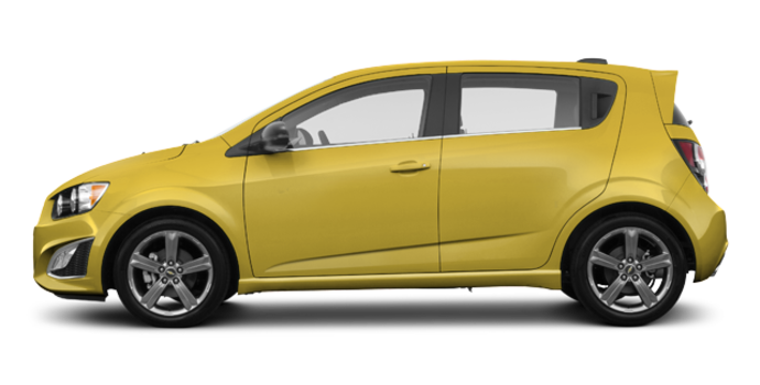 2016 Chevrolet Sonic Hatchback RS | Photo 4 | Bright Yellow