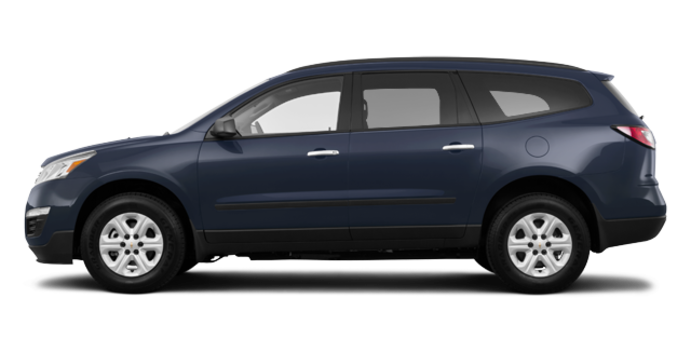 2016 Chevrolet Traverse LS | Photo 4 | Blue Velvet Metallic