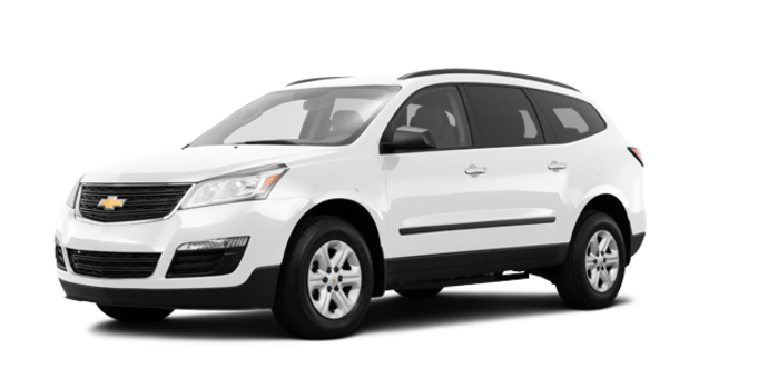 2016 Chevrolet Traverse LS | Photo 6 | Summit White
