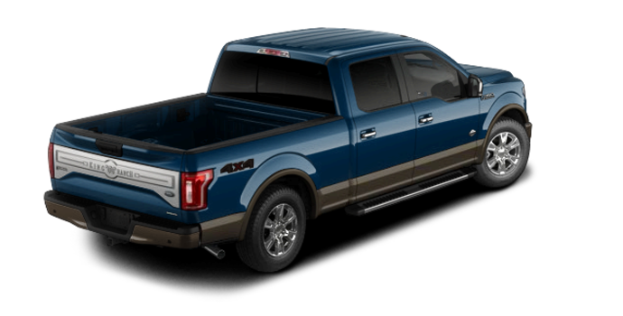 2016 Ford F-150 KING RANCH | Photo 5 | Blue Jeans/Caribou
