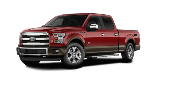 2016 Ford F-150 KING RANCH | Photo 6 | Ruby Red/Caribou