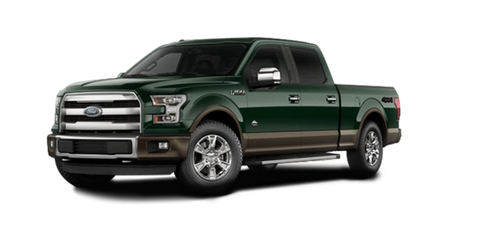 2016 Ford F-150 KING RANCH | Photo 6 | Green Gem/Caribou