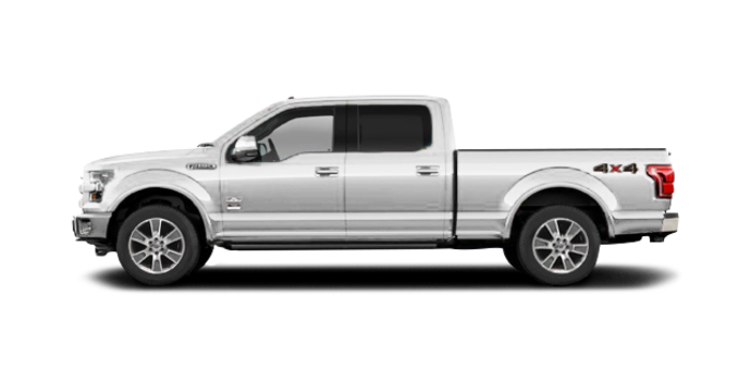 2016 Ford F-150 KING RANCH | Photo 4 | White Platinum
