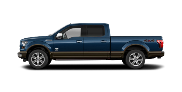 2016 Ford F-150 KING RANCH | Photo 4 | Blue Jeans/Caribou