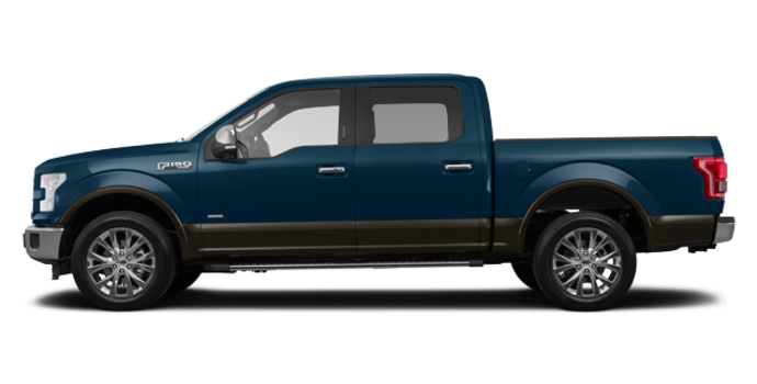 2016 Ford F-150 LARIAT | Photo 4 | Blue Jeans/Caribou