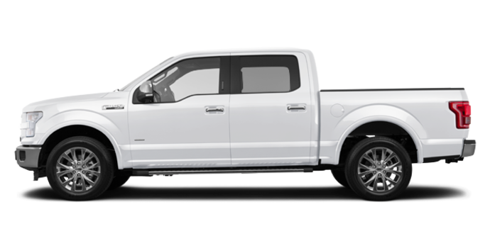 2016 Ford F-150 LARIAT | Photo 4 | White Platinum