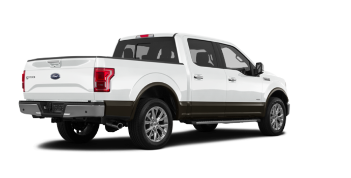 2016 Ford F-150 LARIAT | Photo 5 | Oxford White/Caribou