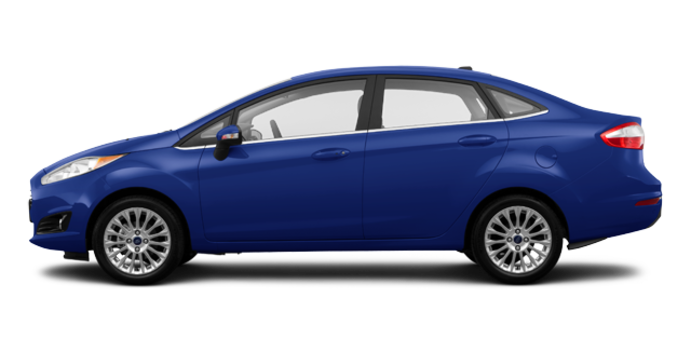 2016 Ford Fiesta TITANIUM SEDAN | Photo 4 | Kona Blue