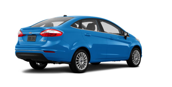 2016 Ford Fiesta TITANIUM SEDAN | Photo 5 | Blue Candy