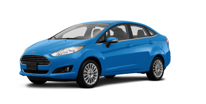 2016 Ford Fiesta TITANIUM SEDAN | Photo 6 | Blue Candy