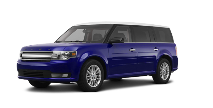 2016 Ford Flex SEL | Photo 6 | Kona Blue