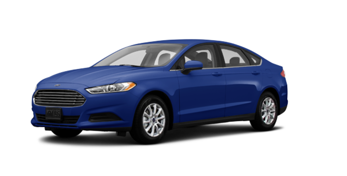 2016 Ford Fusion S | Photo 6 | Deep Impact Blue