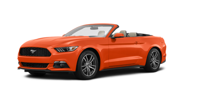 2016 Ford Mustang Convertible EcoBoost Premium | Photo 6 | Competition Orange