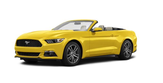 2016 Ford Mustang Convertible EcoBoost Premium | Photo 6 | Triple Yellow