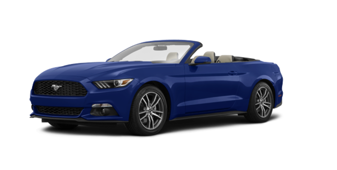 2016 Ford Mustang Convertible EcoBoost Premium | Photo 6 | Deep Impact Blue