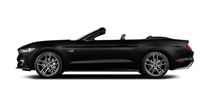 2016 ford mustang convertible gt premium photo 4 shadow black