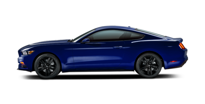 2016 Ford Mustang EcoBoost Premium | Photo 4 | Deep Impact Blue