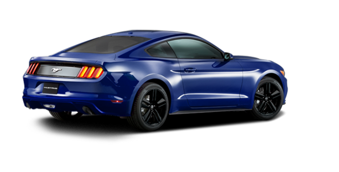 2016 Ford Mustang EcoBoost | Photo 5 | Deep Impact Blue