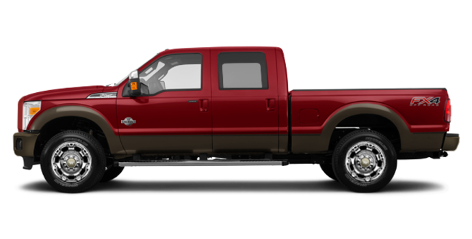 2016 Ford Super Duty F-250 KING RANCH | Photo 4 | Ruby Red / Caribou