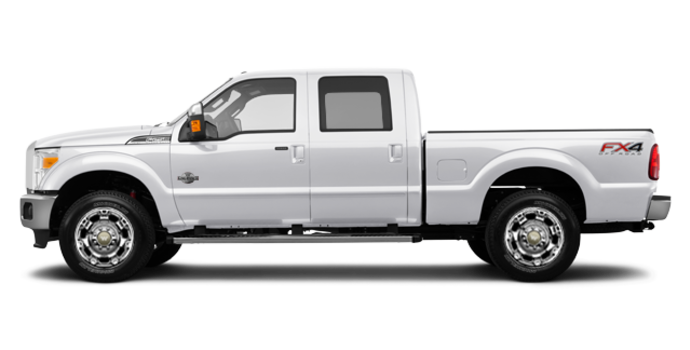 2016 Ford Super Duty F-250 KING RANCH | Photo 4 | White Platinum