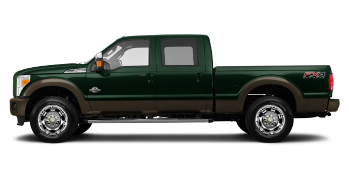 2016 Ford Super Duty F-250 KING RANCH | Photo 4 | Green Gem / Caribou
