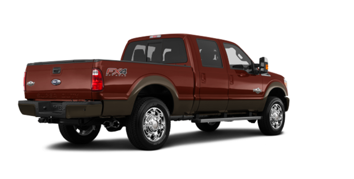 2016 Ford Super Duty F-250 KING RANCH | Photo 5 | Bronze Fire / Caribou