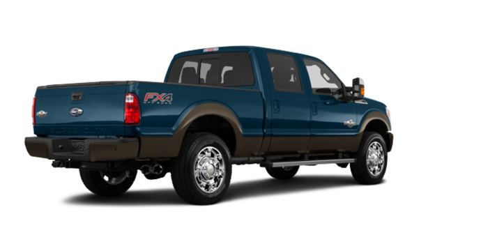2016 Ford Super Duty F-250 KING RANCH | Photo 5 | Blue Jeans / Caribou