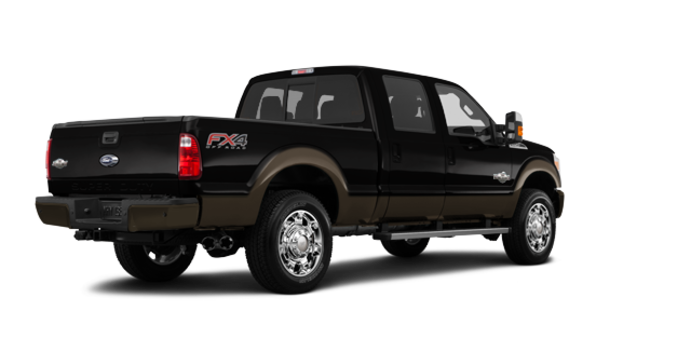 2016 Ford Super Duty F-250 KING RANCH | Photo 5 | Shadow Black / Caribou