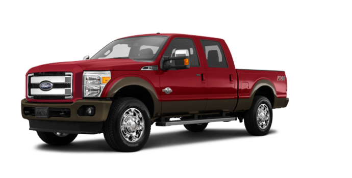2016 Ford Super Duty F-250 KING RANCH | Photo 6 | Ruby Red / Caribou