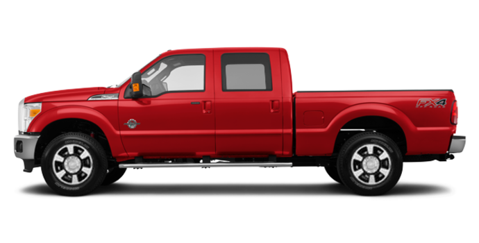 2016 Ford Super Duty F-250 LARIAT | Photo 4 | Race Red