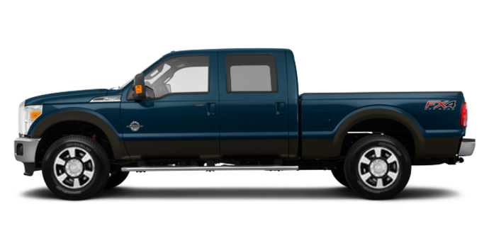 2016 Ford Super Duty F-250 LARIAT | Photo 4 | Blue Jeans / Caribou