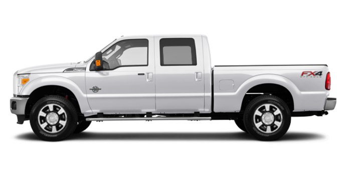2016 Ford Super Duty F-250 LARIAT | Photo 4 | White Platinum