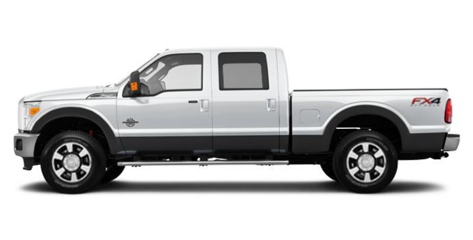 2016 Ford Super Duty F-250 LARIAT | Photo 4 | Oxford White / Magnetic