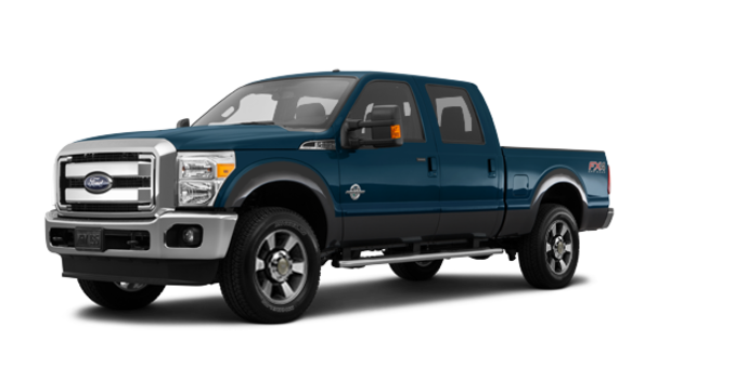 2016 Ford Super Duty F-250 LARIAT | Photo 6 | Blue Jeans / Magnetic