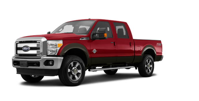 2016 Ford Super Duty F-250 LARIAT | Photo 6 | Ruby Red / Caribou