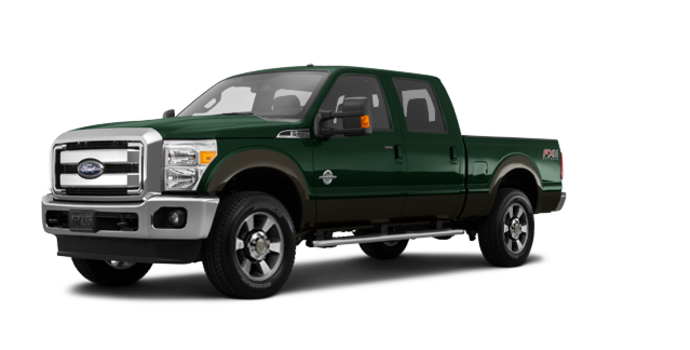 2016 Ford Super Duty F-250 LARIAT | Photo 6 | Green Gem / Caribou