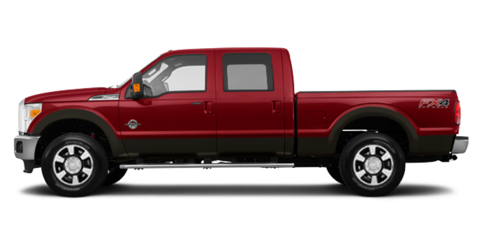 2016 Ford Super Duty F-350 LARIAT | Photo 4 | Ruby Red / Caribou