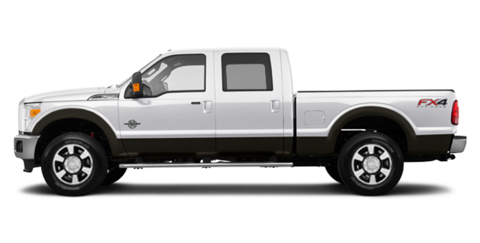 2016 Ford Super Duty F-350 LARIAT | Photo 4 | White Platinum / Caribou