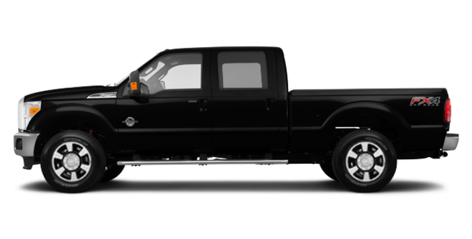 2016 Ford Super Duty F-350 LARIAT | Photo 4 | Shadow Black