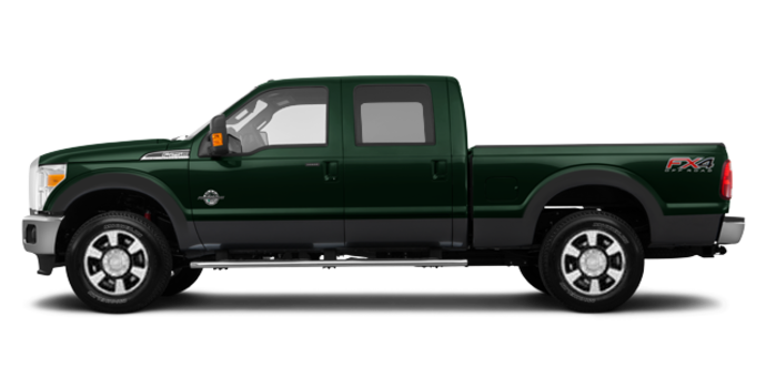 2016 Ford Super Duty F-350 LARIAT | Photo 4 | Green Gem / Magnetic