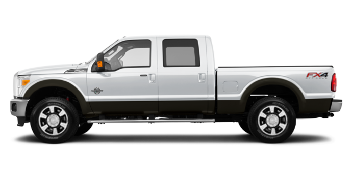 2016 Ford Super Duty F-350 LARIAT | Photo 4 | Oxford White / Caribou
