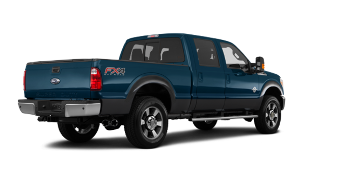 2016 Ford Super Duty F-350 LARIAT | Photo 5 | Blue Jeans / Magnetic