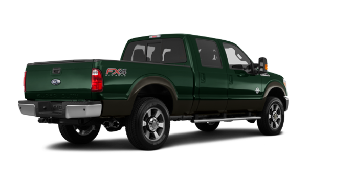 2016 Ford Super Duty F-350 LARIAT | Photo 5 | Green Gem / Caribou