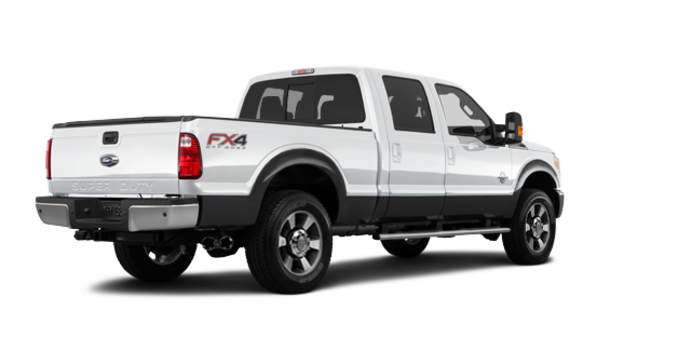 2016 Ford Super Duty F-350 LARIAT | Photo 5 | Oxford White / Magnetic