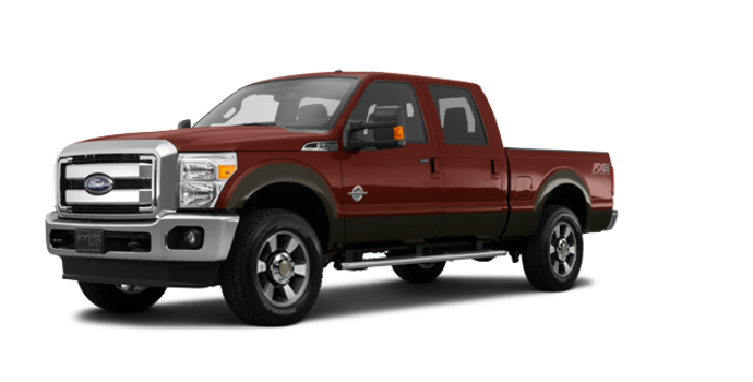 2016 Ford Super Duty F-350 LARIAT | Photo 6 | Bronze Fire / Caribou