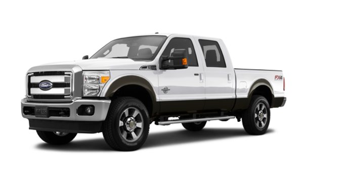 2016 Ford Super Duty F-350 LARIAT | Photo 6 | White Platinum / Caribou