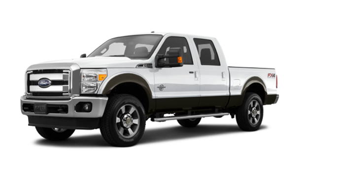 2016 Ford Super Duty F-350 LARIAT | Photo 6 | Oxford White / Caribou