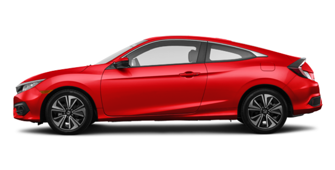2016 Honda Civic Coupe EX-T | Photo 4 | Rallye Red